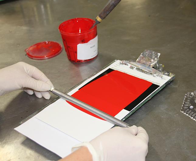 Controle qualité peintures industrielles